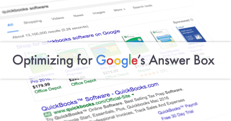 Mark Your Presence on Google Answer Box – A Complete Guide